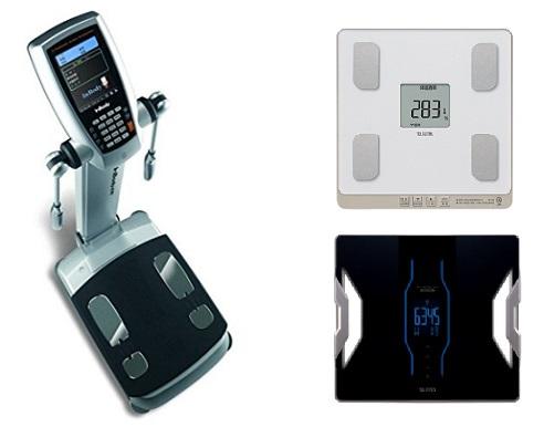 様々な家庭用の体重計