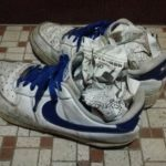 雨で濡れた靴の臭い対策 & 早く乾かす方法